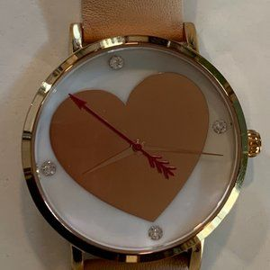 SUMMER SALE!!  kate spade Yours Truly Heart Watch